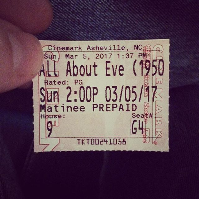 """All About Eve"" on the Big Screen! SQUEE!!!"